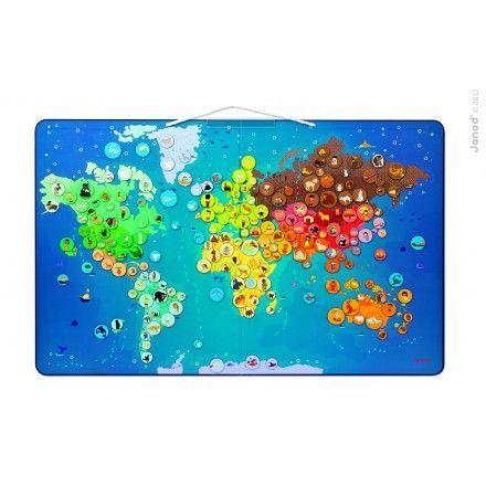 Harta pliabila,Animale din toata lumea