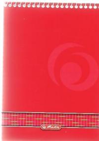 zzBlocnotes cu spirala A7 PaperAttack,40f,di