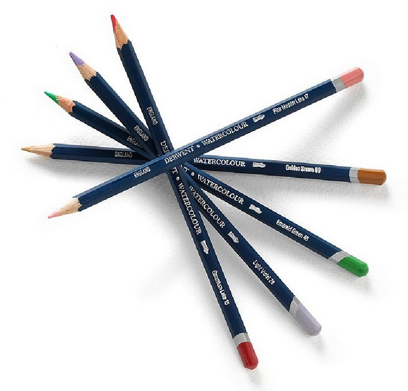 Creion Derwent Watercolour PaleVermilion