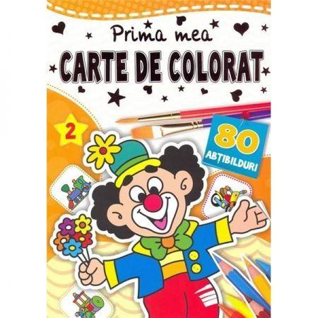 PRIMA MEA CARTE DE COLORAT 2 - CU ABTIBILDURI