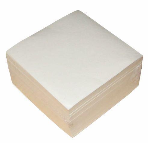 Cub hartie,8.5x8.5cm ,500coli,alb