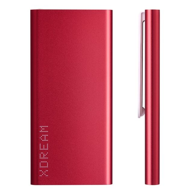 Baterie portabila XS, 3000mAh, roz