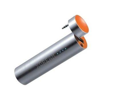 Baterie portabila cu speaker, 3000mAh, portocaliu