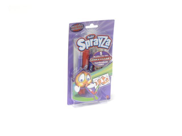 Sprayza,5 markere,sablon,rama,set 2206
