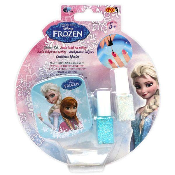 Glitter manichiura,Frozen