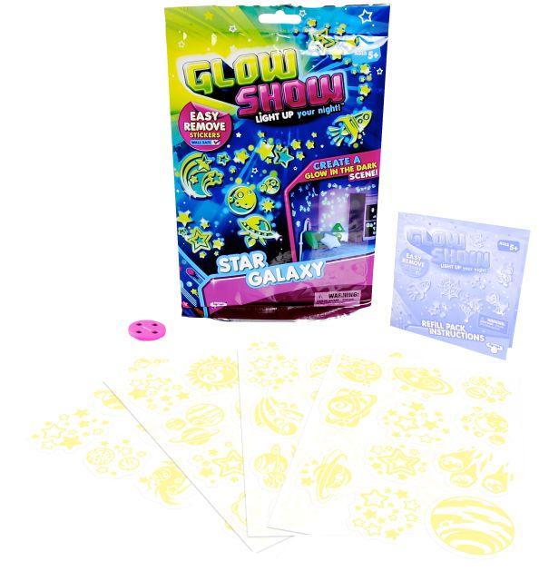 Rezerve Glow Show,4foi stickere,div.modele