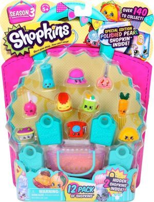 Figurina Shopkins,12buc/blister,S3