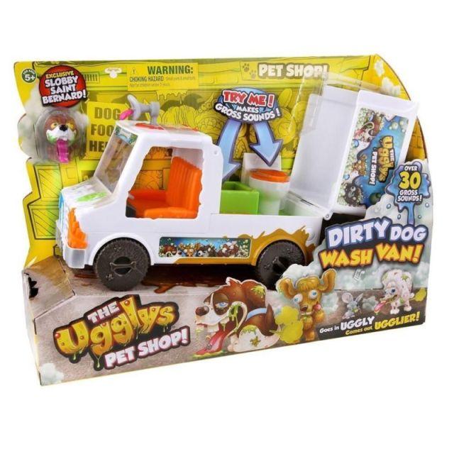 Figurina The Ugglys,furgoneta curatare