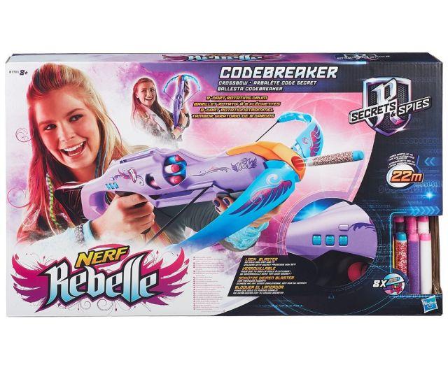 Arbaleta Codebraker Nerf Rebelle