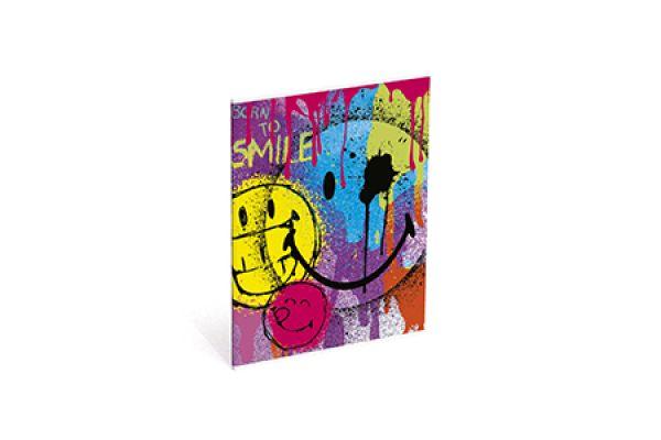 Caiet spira,A5,matem,Smiley World