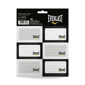 Etichete scolare,18/set,Everlast