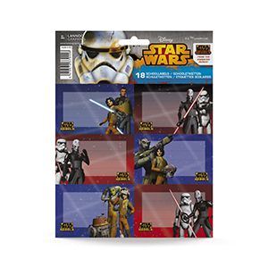 Etichete scolare,18/set,Star Wars Rebels
