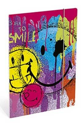 Mapa cu elastic,26x7x35cm,Smiley World