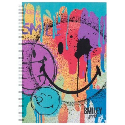 Caiet spira,A5,dict,Smiley World