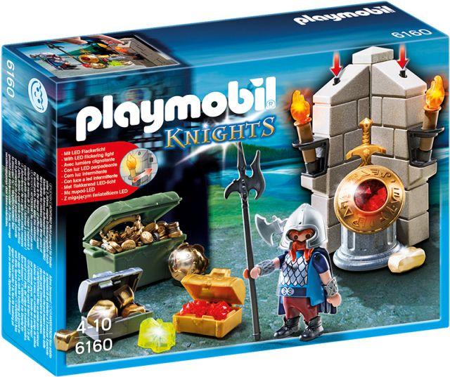 Playmobil-Aparatorul comorii regale