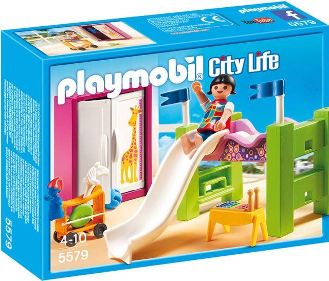 Playmobil-Camera copiilor,cu tobogan