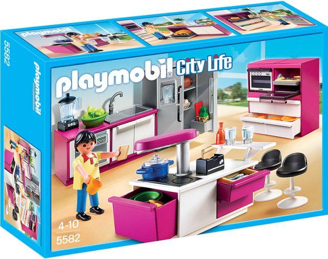 Playmobil-Bucatarie de lux