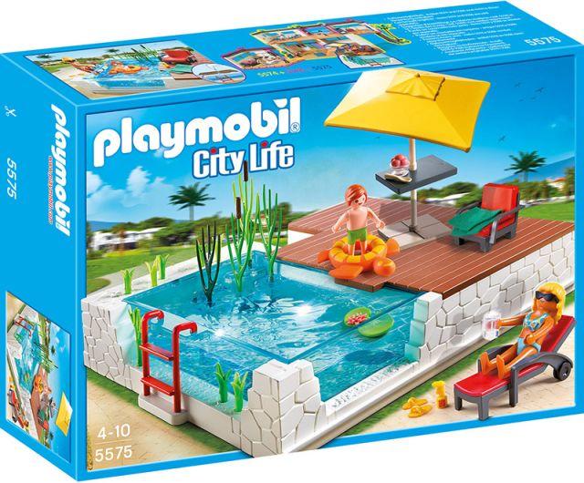 Playmobil-Piscina de lux