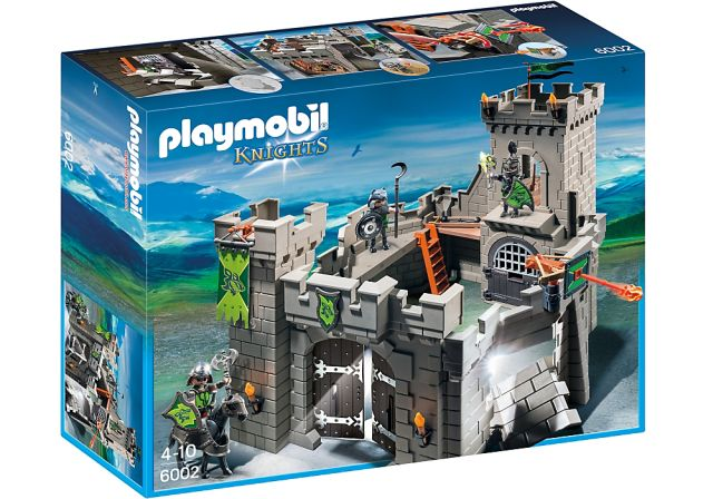 Playmobil-Castelul cavalerilor lup