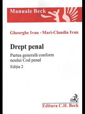 DREPT PENAL PARTE GENERALA CF NCP - EDITIA 2