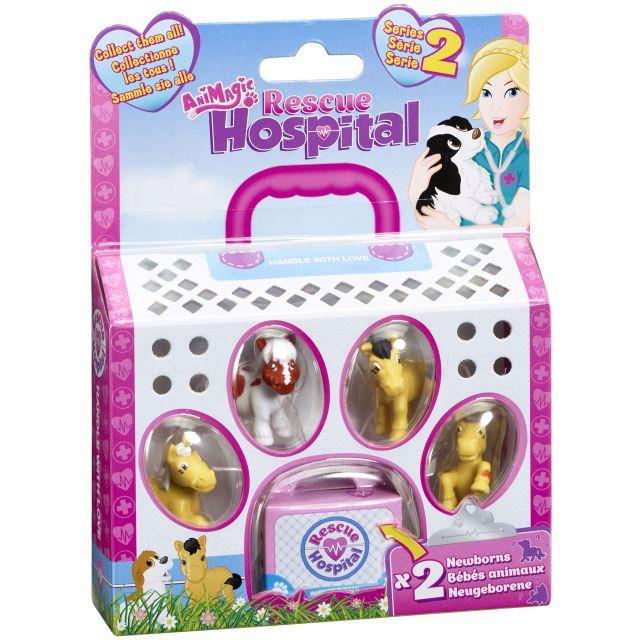 Figurina Rescue Hospital,5buc/blister