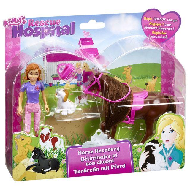 Figurina Rescue Hospital,Calut cu accesorii