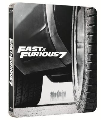 FAST & FURIOUS 7 BD Steelbook - FURIOS ?I IUTE 7