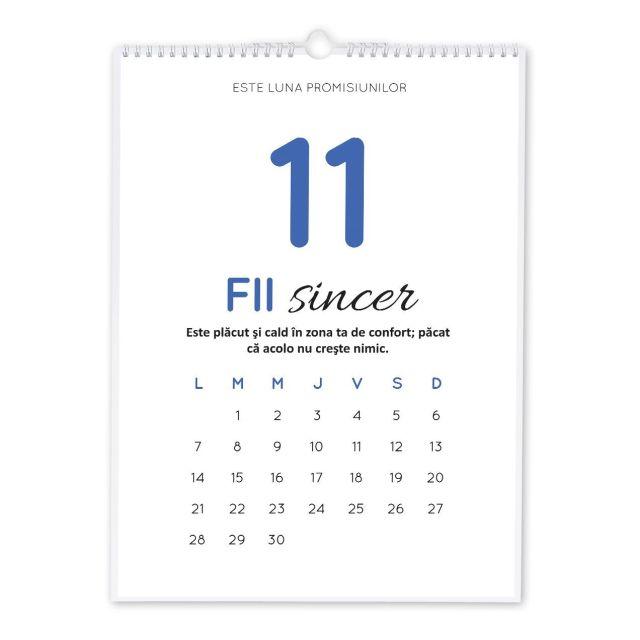 Calendar perete 30x42cm,Be You