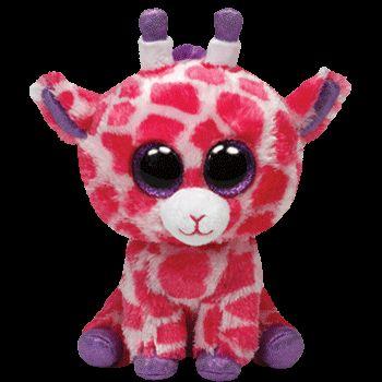 Plus TY Twigs-Girafa,roz,15cm
