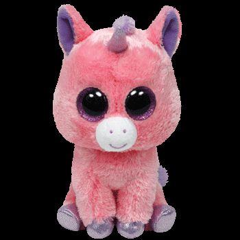Plus TY Magic-Unicorn,roz,15cm