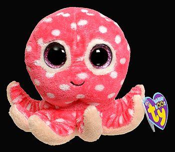 Plus TY Ollie-Caracatita,roz,15cm