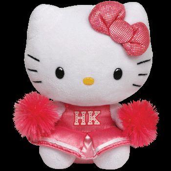 Plus TY Hello Kitty-Majoreta,24cm