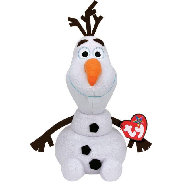 Plus TY Disney-Olaf,cu sunet,24cm