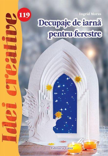 DECUPAJE DE IARNA PENTRU FERESTRE, IDEI CREATIVE 119