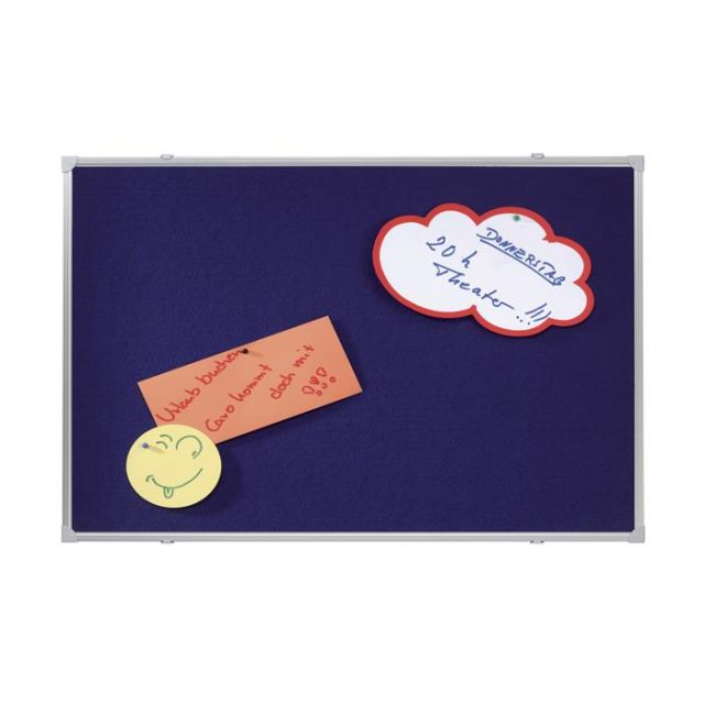 Tabla fetru Franken,90x60cm,albastru