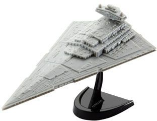 Star Wars EasyKit Pocket Model Kit 1/12300 Imperial Star Destroyer 13 cm
