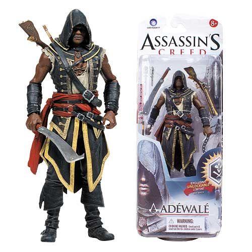 Assassin´s Creed III Action Figures 15 cm - ADEWALE