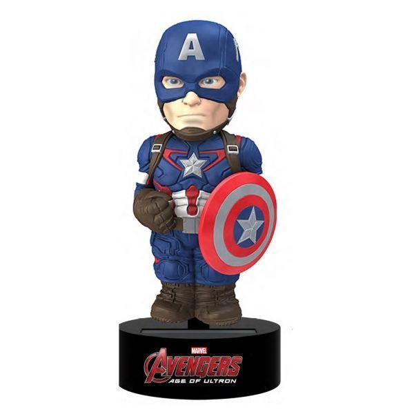 Avengers Age of Ultron Body Knocker Bobble-Figure Captain America 15 cm
