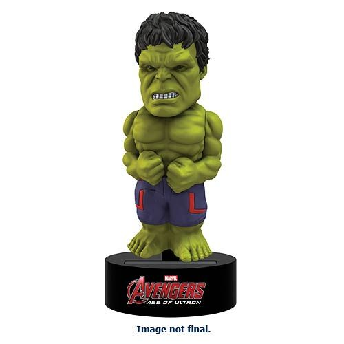 Avengers Age of Ultron Body Knocker Bobble-Figure Hulk 15 cm