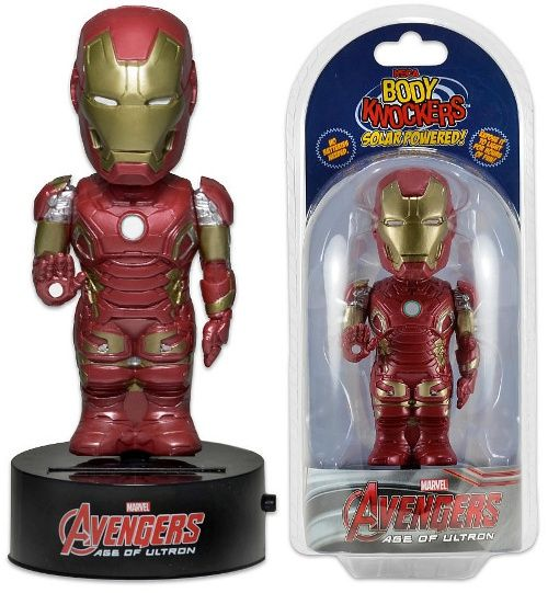 Avengers Age of Ultron Body Knocker Bobble-Figure Iron Man 15 cm
