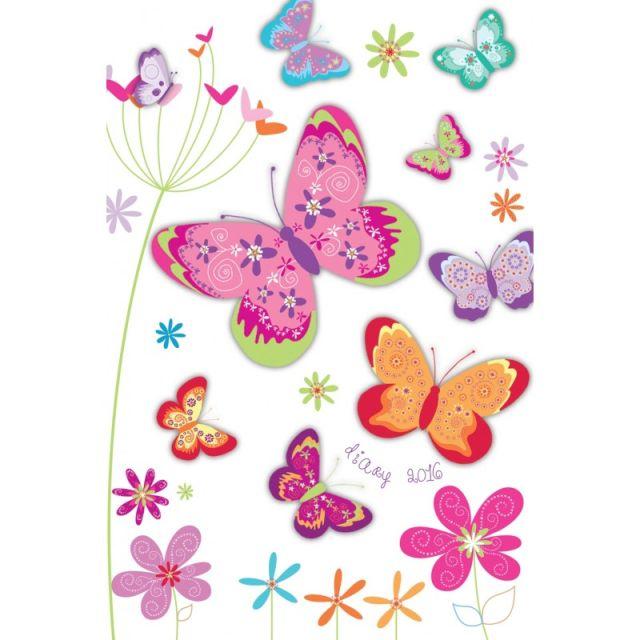 Agenda 8x10cm,datata 2016,Butterflies