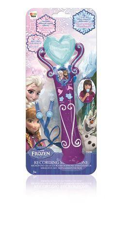 Microfon Frozen,efecte sonore