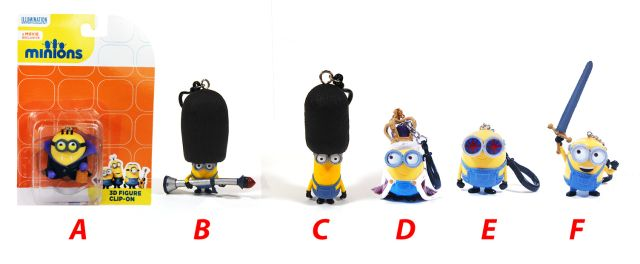 Figurina Minions,7cm,agatatoare,blister,UK
