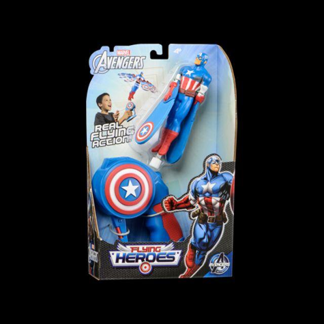 Figurina zburatoare,erou,Captain America
