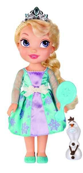 Papusa Disney,Frozen,cu Olaf,perie par
