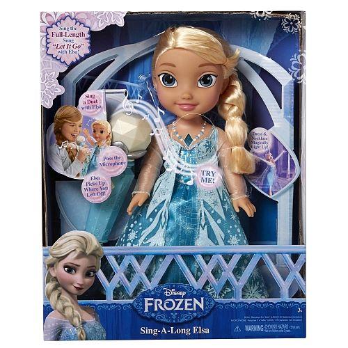 Papusa Disney Frozen,Elsa,Karaoke