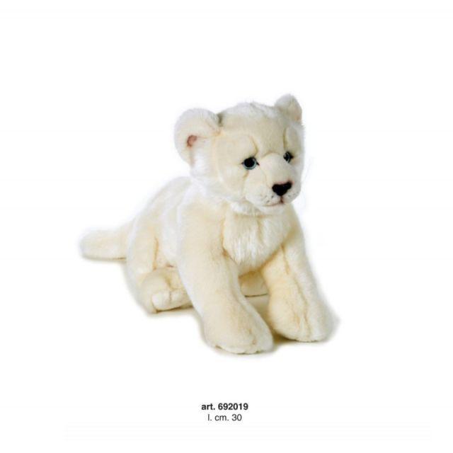 Plus,Leu alb mediu,30cm