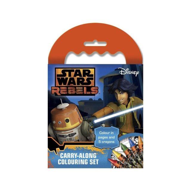 Carnetel desen,creioane cerate,Star Wars Rebels