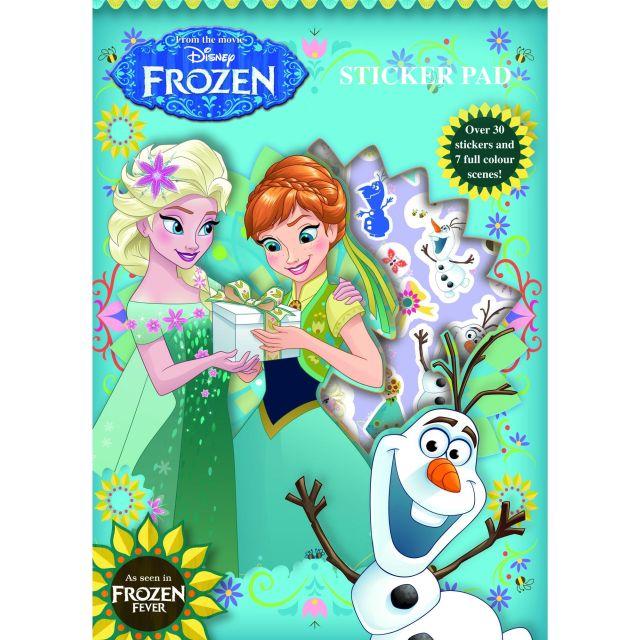 Caiet desen cu stikere,Frozen Forever