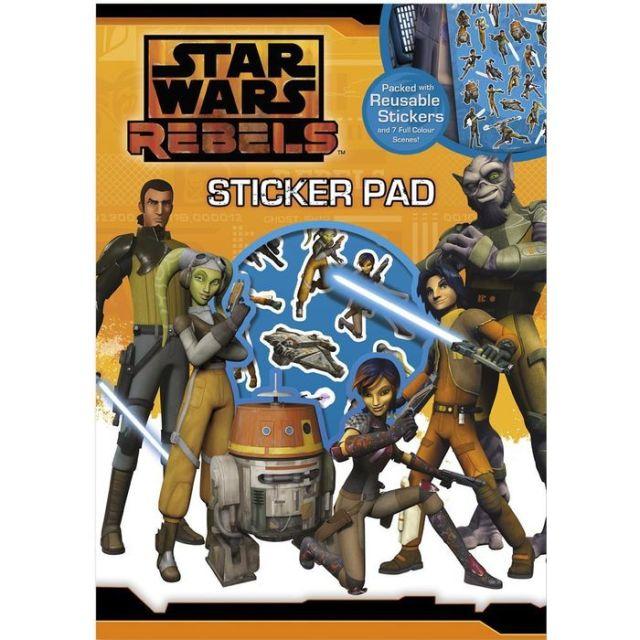 Caiet desen cu stikere,Star Wars Rebels